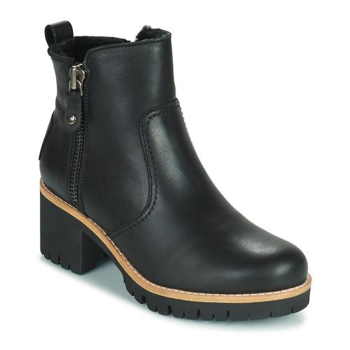 Shoes Women Ankle boots Panama Jack PAULINE Black