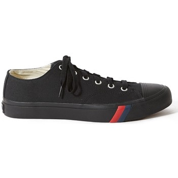 Shoes Men Low top trainers Pro Keds Royal Lo Classic Canvas All Black Black