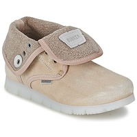 Shoes Girl Mid boots Bunker LAST WALK Beige