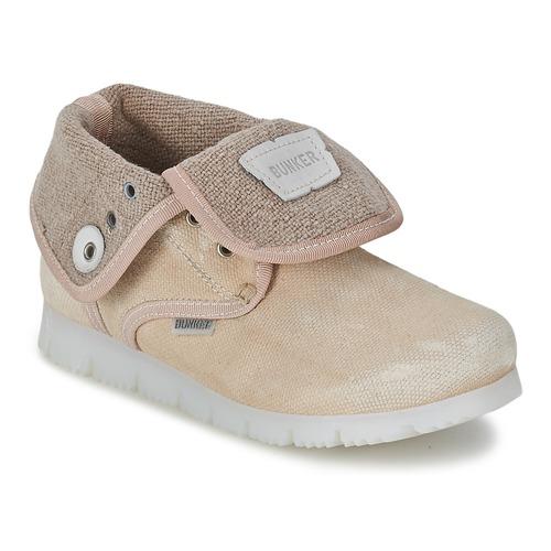 Shoes Girl Mid boots Bunker LAST WALK Beige