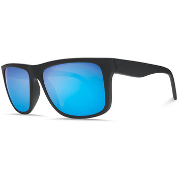 Watches Men Sunglasses Electric Visual Swingarm XL Sunglasses - Matte Black / Blue Chrome Black