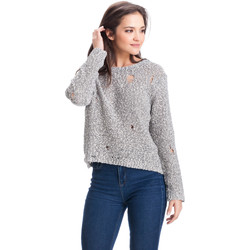 Clothing Women jumpers Laura Moretti Pullover ALDA Grey Woman Autumn/Winter Collection Grey