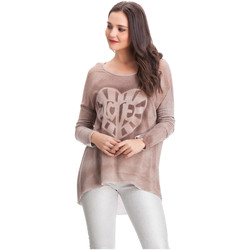 Clothing Women jumpers Laura Moretti Pullover JENYFER Pink Woman Autumn/Winter Collection Pink