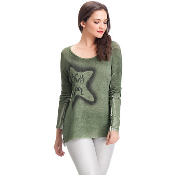 Clothing Women jumpers Laura Moretti Pullover MILLER Green F Green