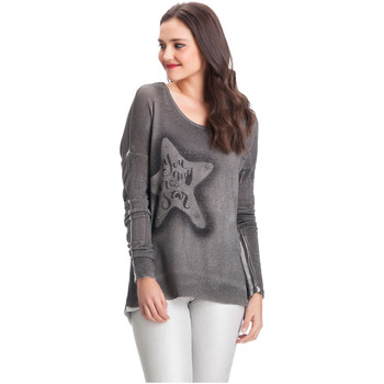 Clothing Women jumpers Laura Moretti Pullover MILLER Grey F Grey