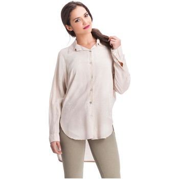 Clothing Women Shirts Laura Moretti Shirt VIENNES Pink Woman Autumn/Winter Collection Pink