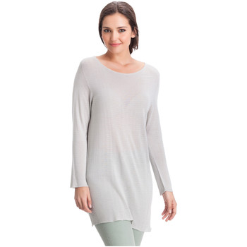 Clothing Women Tops / Blouses Laura Moretti Pullover DENY Grey F Grey