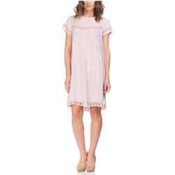 Clothing Women Short Dresses Laura Moretti Dress NURAH Pink F Pink