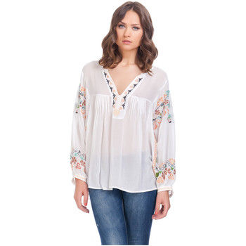 Clothing Women Tops / Blouses Laura Moretti Blouse NIJHA White F White