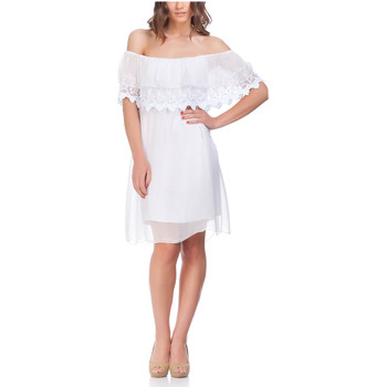 Clothing Women Dresses Laura Moretti Dress NIRVY White F White