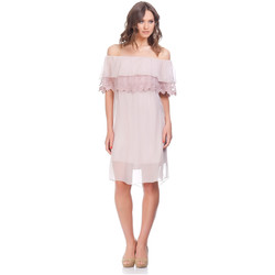 Clothing Women Dresses Laura Moretti Dress NIRVY Pink F Pink