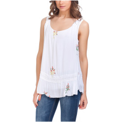 Clothing Women Tops / Blouses Laura Moretti Top YAEL White Woman Autumn/Winter Collection White