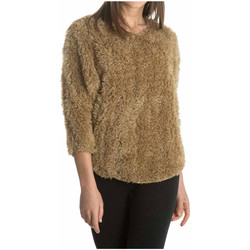 Clothing Women jumpers Laura Moretti Pullover MARYN Camel Woman Autumn/Winter Collection Camel