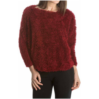 Clothing Women jumpers Laura Moretti Pullover MARYN Red Woman Autumn/Winter Collection Red