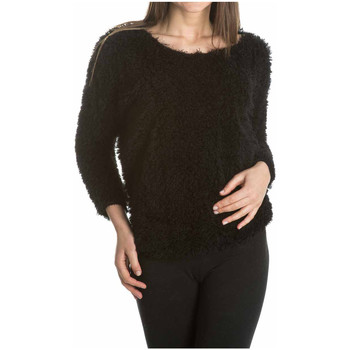 Clothing Women jumpers Laura Moretti Pullover MARYN Black F Black