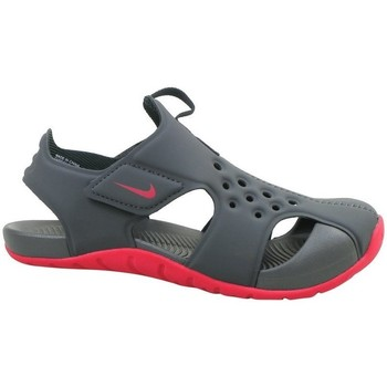 Shoes Children Sandals Nike Sunray Protect 2 PS Grey