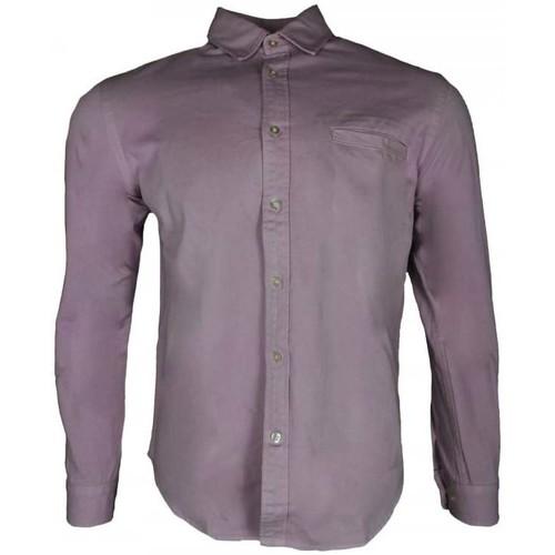 Clothing Men Long-sleeved shirts Edwin Better Shirt Natural Shirting pink