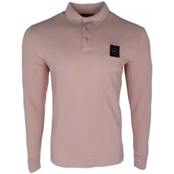 Clothing Men T-shirts & Polo shirts Marshall Artist LS Siren Polo pink