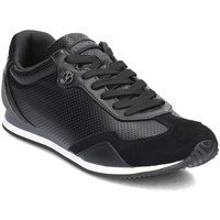 Shoes Men Low top trainers Versace E0YRBSA370105899 Black
