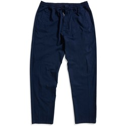 Clothing Men chinos Folk Drawcord Trousers Navy Blue