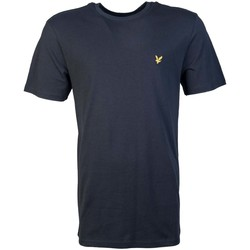 Clothing Men short-sleeved t-shirts Lyle & Scott T Shirt TS400V black