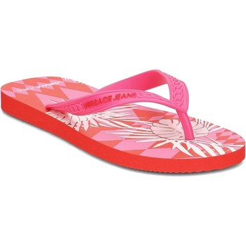 Shoes Women Flip flops Versace E0VRBSL170068MFE Red