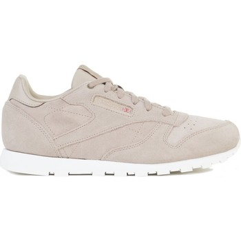 Shoes Children Low top trainers Reebok Sport CL Leather Mcc Beige