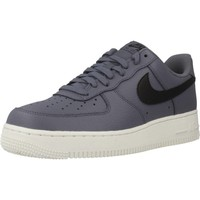 Shoes Men Trainers Nike AIR FORCE 1 07 Blue