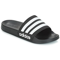 Shoes Tap-dancing adidas Originals ADILETTE SHOWER Black