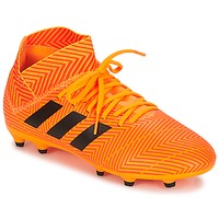 Shoes Boy Football shoes adidas Performance NEMEZIZ 18.3 FG J Black / Red