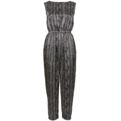 Clothing Women Jumpsuits / Dungarees Fornarina SAINT PAUL Black / ECRU