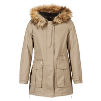 Clothing Women Parkas Moony Mood GARNO Beige