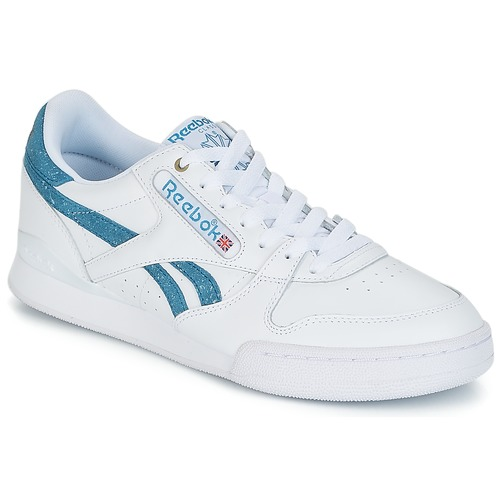 c4332c31f37 Reebok Classic PHASE 1 PRO MU White   Blue - Free delivery with ...