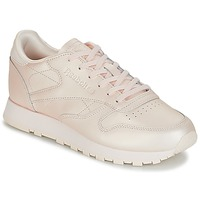 Shoes Women Low top trainers Reebok Classic CLASSIC LEATHER Pink