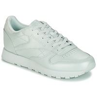 Shoes Women Low top trainers Reebok Classic CLASSIC LEATHER Green