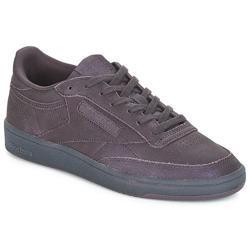 Shoes Women Low top trainers Reebok Classic CLUB C 85 Purple