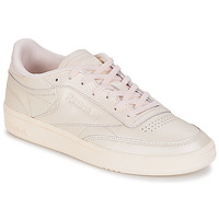Shoes Women Low top trainers Reebok Classic CLUB C 85 Pink