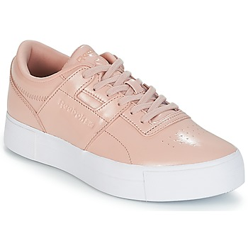 Shoes Women Low top trainers Reebok Classic WORKOUT LO FVS Pink