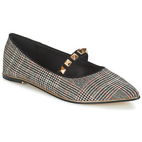 Shoes Women Flat shoes Menbur DOUMIER Black / Red