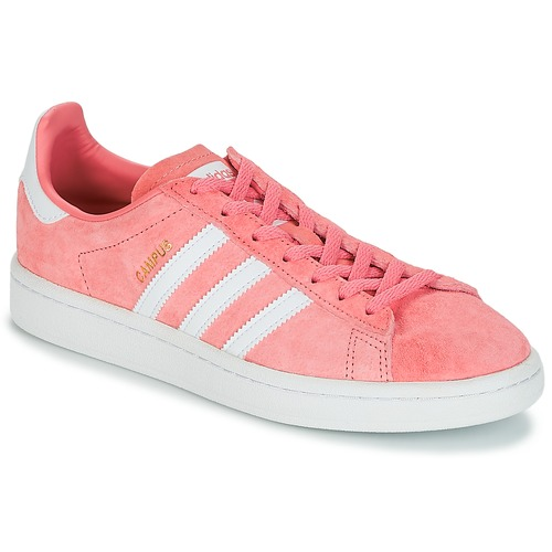 Shoes Women Low top trainers adidas Originals CAMPUS W Pink