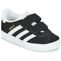 Shoes Children Low top trainers adidas Originals GAZELLE CF I Black