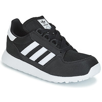 Shoes Children Low top trainers adidas Originals OREGON C Black