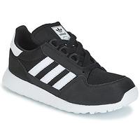 Shoes Children Low top trainers adidas Originals OREGON C Black