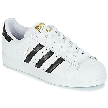 Shoes Low top trainers adidas Originals SUPERSTAR White / Black