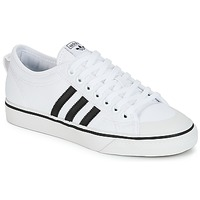 Shoes Low top trainers adidas Originals NIZZA White / Black