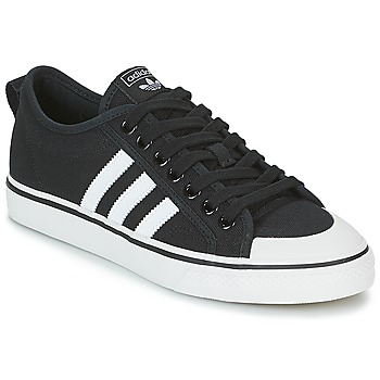 Shoes Low top trainers adidas Originals NIZZA Black / White