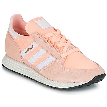 Shoes Women Low top trainers adidas Originals OREGON W Pink
