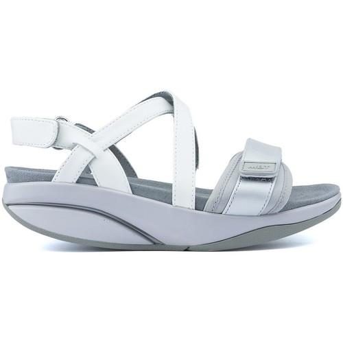Shoes Women Sandals Mbt SANDALS CHANTEL W SILVER