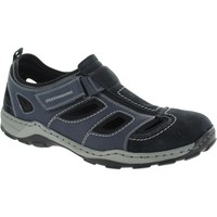 Shoes Men Sandals Rieker 08075-14 Blue