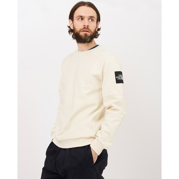 Clothing Men jumpers The North Face Black Label Fine 2 Crew Sweat White White